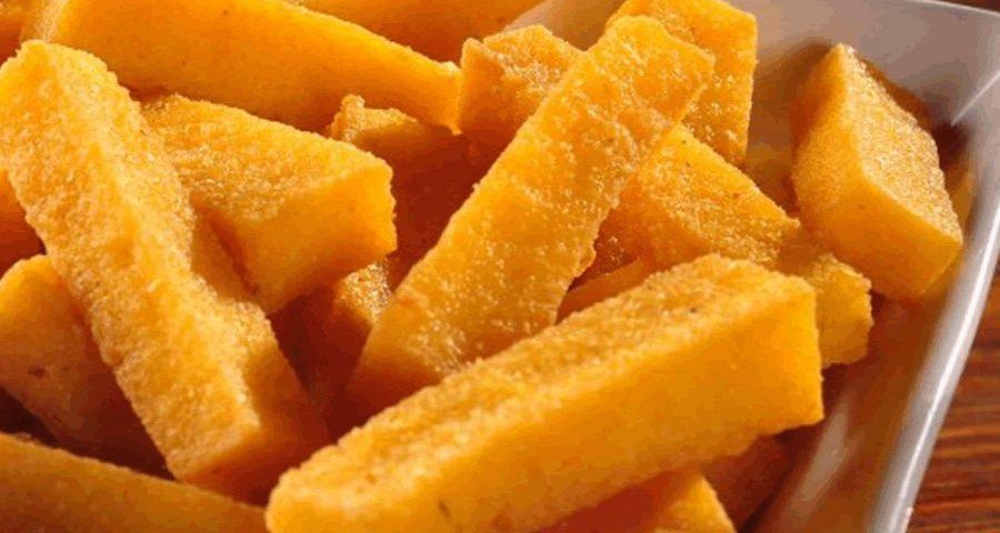Polenta frita na air-fryer – Mitsuo – Don't Worry